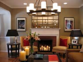 HD wallpapers living room dining room with fireplace