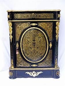 details sur en restauration meuble d39appui marqueterie With meuble boulle napoleon 3