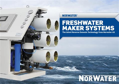 Norwater Reverse Osmosis Fresh Water Maker System By