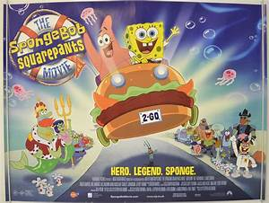 Spongebob Squarepants Movie (The) - Original Cinema Movie ...