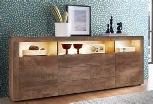 küche und haushalt sideboard breite 166 cm kaufen otto