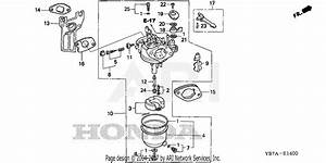 Honda Wh20x Cr Water Pump  Jpn  Vin  Gx140