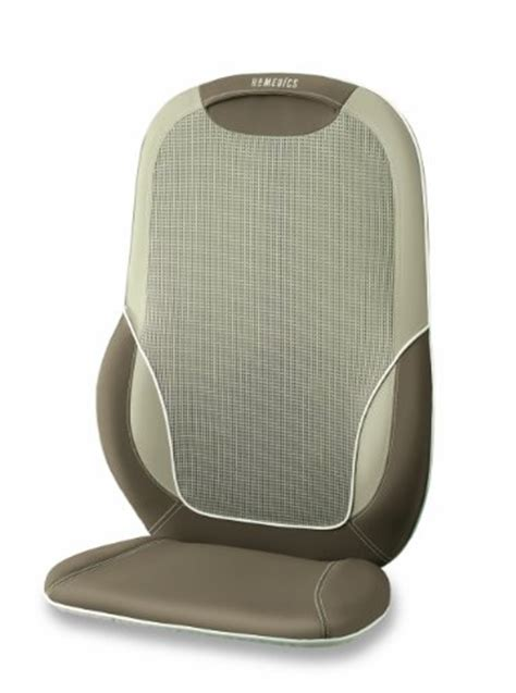 Homedics Chair Massager Mcs 510h by Homedics Mcs 510h Total Back And Shoulder Cushion