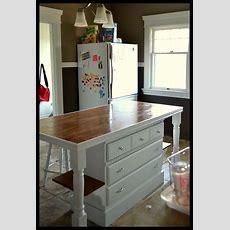 Best 25+ Dresser Kitchen Island Ideas On Pinterest
