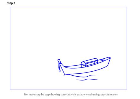 How To Draw A Boat Scene by Learn How To Draw Boat On The Beach Scene Landscapes