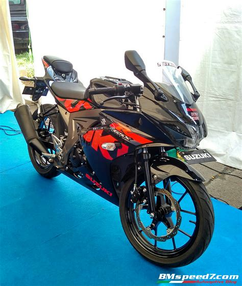 Review Suzuki Gsx R150 by Review Suzuki Gsx R150 Simpel Tapi Menarik