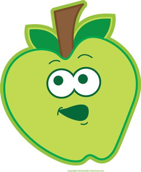 free fruit clipart 395 | happy apple