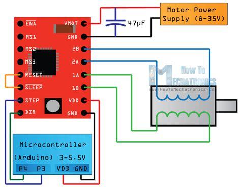stepper motor rotating  hand arduino protect
