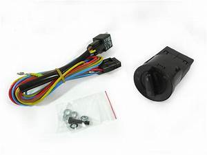 1999  Gti    Jetta Mk 4 Relay Wiring Harness Adapter For Euro Switch Used On Euro