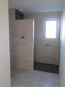 douche a l italienne sans receveur unique muret douche With douche italienne sans porte