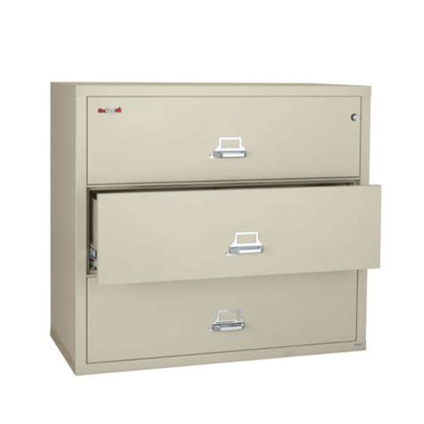 fireproof three drawer lateral fire 44w