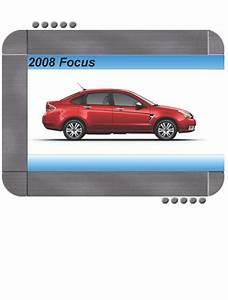 Ford Focus 2008 Factory Service  U0026 Shop Manual