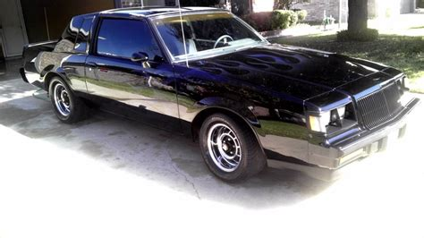 buick grand national paint job  flames