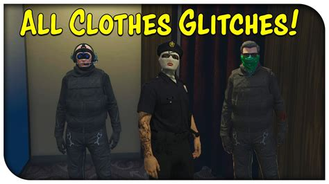 GTA 5 Online - ALL CLOTHES GLITCHES AFTER PATCH 1.28! (Hat/Glasses w/ Mask Pilot Headset u0026 More ...