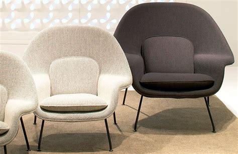 womb chair medium designed  eero saarinen twentytwentyone
