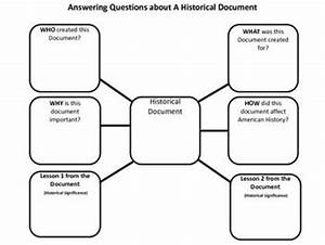 Analyzing historical documents graphic organizer for Analyzing historical documents graphic organizer