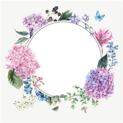 frames floral images  pinterest