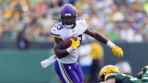 week  nfl injuries dalvin cook questionable  face rams