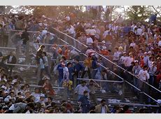 Flashback The Heysel Disaster, 29 May 1985 Who Ate all