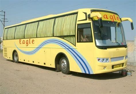 indian luxury buses eagle travels delhi ahmedabad