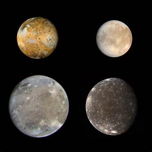 Space Images | Galilean Satellites