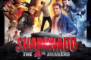 Sharknado 4 The 4th Awakens review - Slickster Magazine