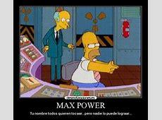 MAX POWER Desmotivaciones