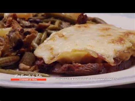 cuisiner roti de veau recette rôti de veau orloff de laurence les