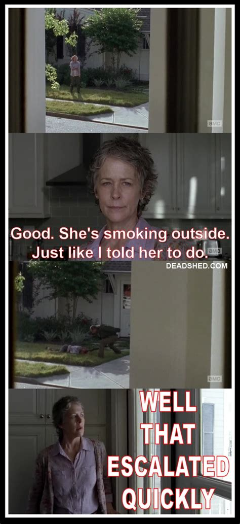 Carol Meme Deadshed Productions Haircut Edition The Walking Dead