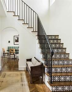Escalier Carreaux De Ciment : comment d corer un escalier elle d coration ~ Dailycaller-alerts.com Idées de Décoration