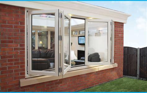 pvc upvc glass aluminium bi fold patio