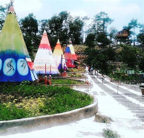 kampung indian kediri wisata hits unik  menarik