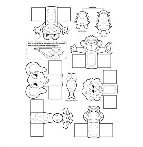 diy finger puppets instruction printable templates