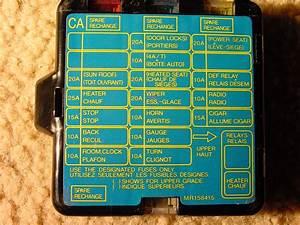 Evo 1-3  Gsr English Fuse Box