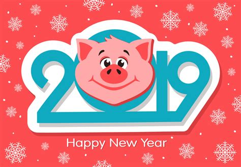 Free Free Happy New Year 2019 Clipart, Download Free Clip