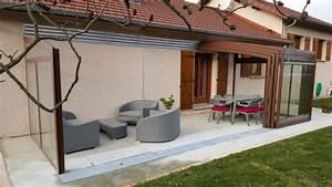 Abri De Terrasse Retractable : veranda terrasse meilleures images d 39 inspiration pour ~ Dailycaller-alerts.com Idées de Décoration