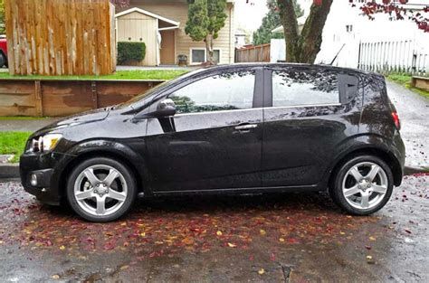small cars black review 2012 chevrolet sonic ltz a great american