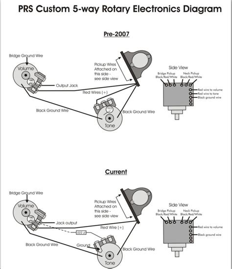 prs tremonti pickup wiring diagram  prs  get free image 4- Way Switch Wiring Diagram
