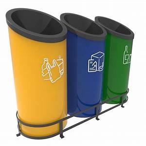 Poubelle De Tri Selectif : gothenburg poubelle tri s lectif design modular 30 ou 50 ~ Farleysfitness.com Idées de Décoration