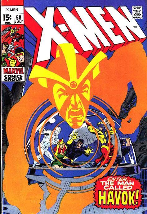 neal adams artists comic marvel havok uncanny comics enter vol 1969