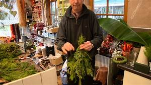 Basteln Mit Zweigen : deko tipp vom weihnachtsprofi ein b umchen von hand youtube ~ Watch28wear.com Haus und Dekorationen