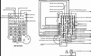 I Am Looking For A Schematic Of A Fuse Box For A 1992 Chevy G G20 Van