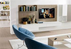 modern living room with tv stands With simple designs of tv rooms