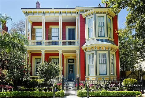 new orleans louisiana garden district homes a