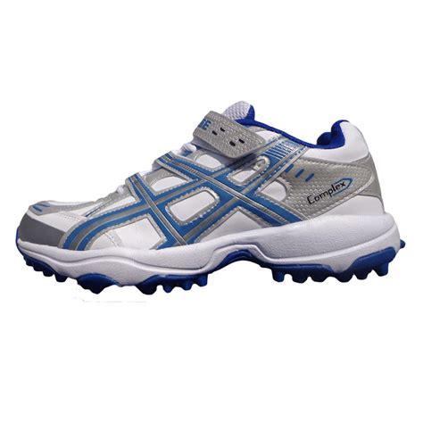 pro ase stud cricket shoes white  blue buy pro ase