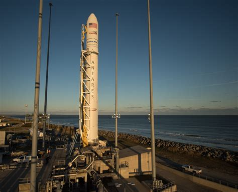 Antares Launch Scrubbed by Wayward Plane, Liftoff Re-Set ...