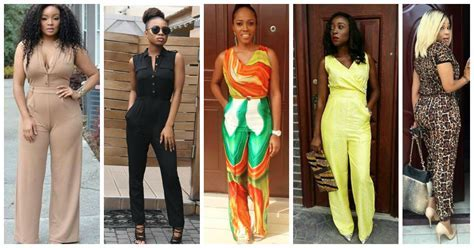 Plain And Pattern Unique Jumpsuit Styles   You'll Love