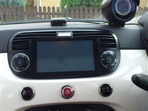 Fiat 500 Aftermarket stereo fiat 500 automobili image idea
