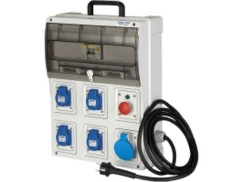 coffret electrique de chantier coffret de chantier d alimentation prises de courant 16 a nf et cei contact btp achatmat
