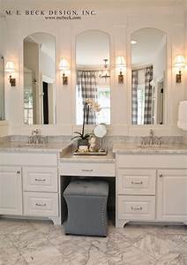 Live beautifully center hall colonial master bath for Bathroom in middle of house